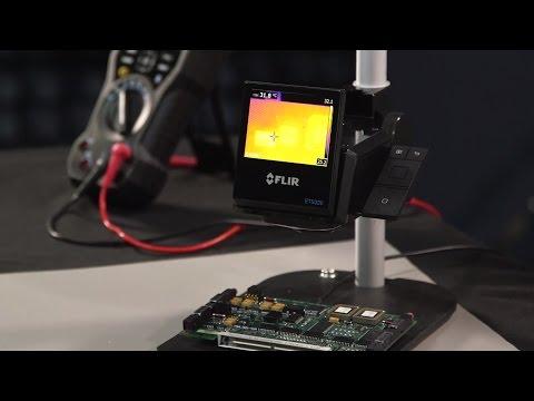 Introducing the FLIR ETS320 Benchtop Thermal Imaging Camera