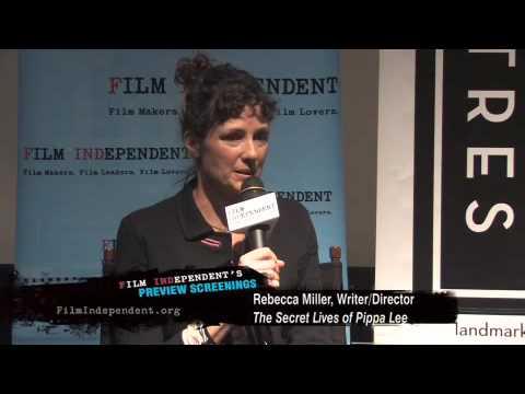 Rebecca Miller on The Secret Lives of Pippa Lee (1 of 4)
