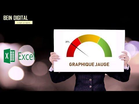Tableau de bord sur Excel comment créer un graphique jauge personnalisable thumbnail
