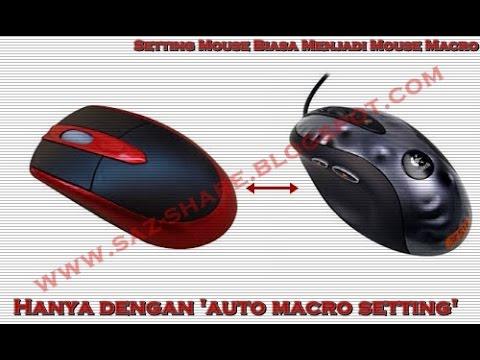 Cara Setting Mouse Biasa Jadi Macro Awp Sg Pb Garena 2016 Youtube