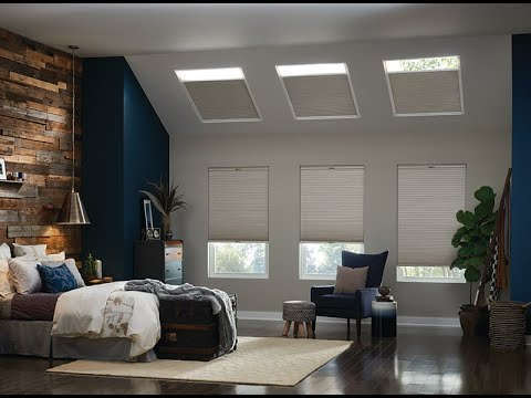 Motorized Room Darkening Mezzo Skylight Shade