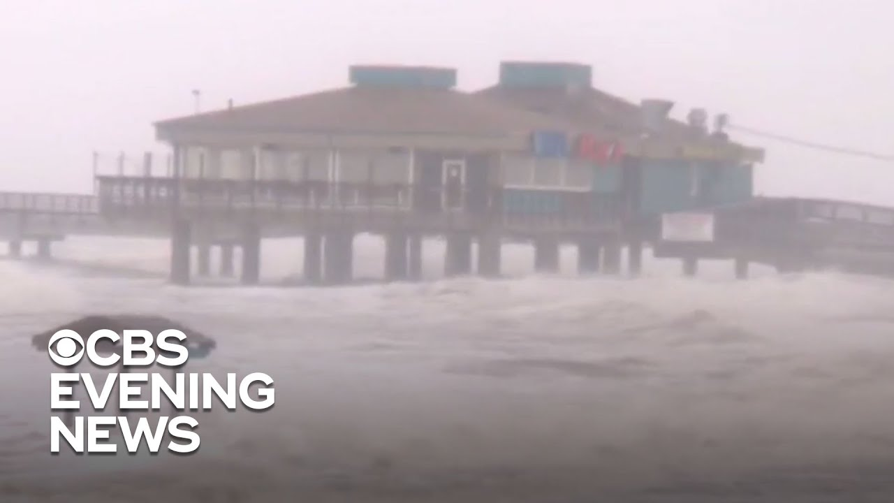Hurricane Hanna makes landfall in South Texas, expected to dump several inches of rain