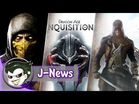 J-News #5: Dragon Age Inquisition, Assassin's Creed Unity и другие новости