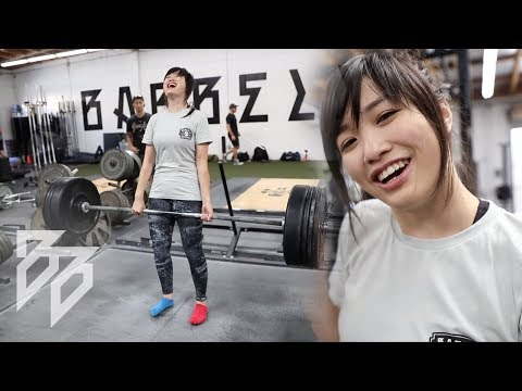 JULIA MAXES OUT ON ALL 3 LIFTS