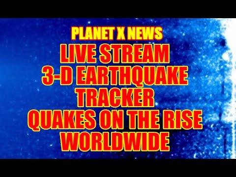 """NIBIRU CHANNEL - """"LIVE STREAM"""" ☀ 3-D EARTHQUAKE TRACKER☀JUNE 17TH 2017"""