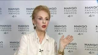 Entrevista a Carolina Herrera - Mango Fashion Awards 2012