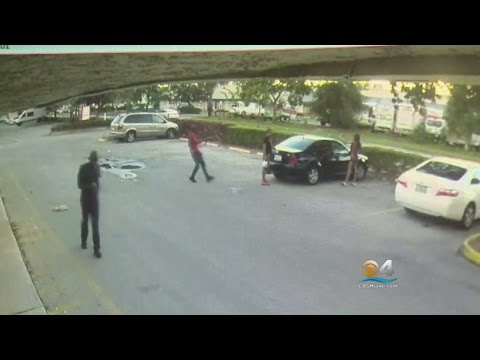 Lauderhill Police Release Surveillance Of Point-Blank Shooting Outside Fish Market