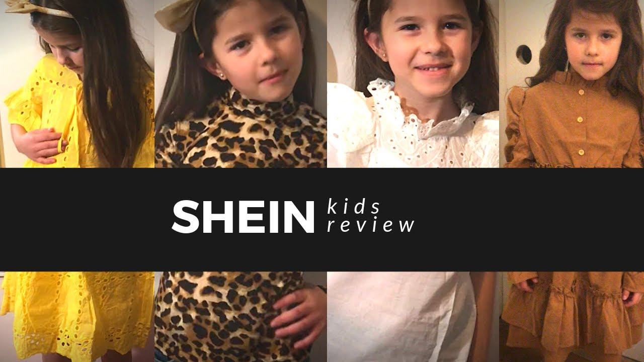 Ropa Barata Para Ninas Shein Kids Review Nohely Youtube