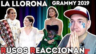 🇷🇺RUSOS REACCIONAN a Angela Aguilar, Aida Cuevas & Natalia Lafourcade - LA LLORONA | GRAMMY 2019