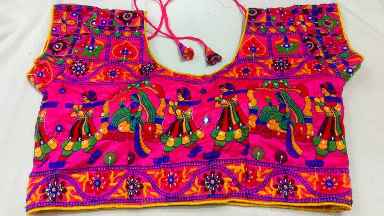 Heavy Embroidery Blouse Designs