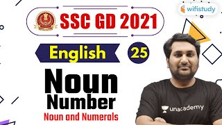 9:00 PM - SSC GD 2021   English by Harsh Sir   Noun Number