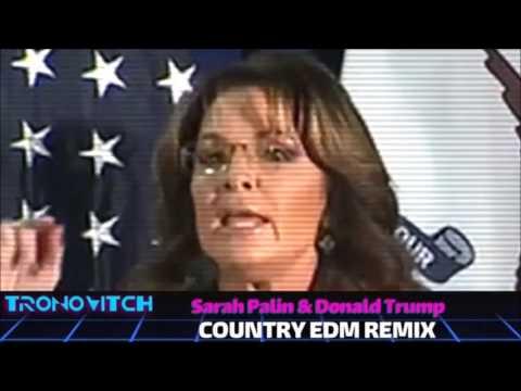 Sarah Palin & Donald Trump - Country EDM Remix 1 HOUR YeeHAW!