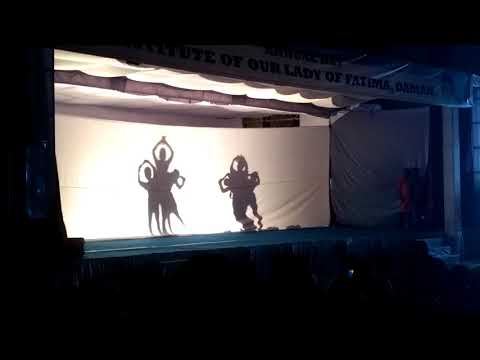 Shadow dance - Fatima convent 2017 - event Mafia - Daman