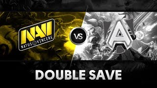 Double save by Dendi & Funn1k vs Alliance @ D2CL S2
