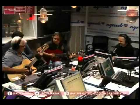 Spain. Larry Coryell&Roman Miroshnichenko at Mayak Radio