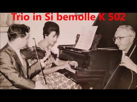 TRIO W.A.Mozart 501 Angelo Stefanato Giuseppe Selmi Margaret Barton