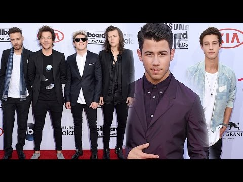 One Direction, Nick Jonas & Cameron Dallas HOT Fashion Billboard Music Awards 2015