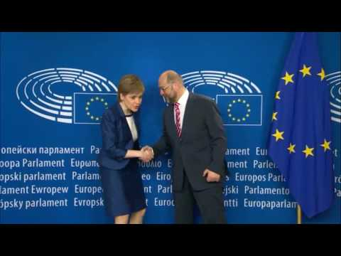 "Scotland visited Brussels but no ""Scotland In"" EU on horizon"