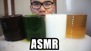 ASMR GRASS JELLY-JELLO *EXTREME EATING SOUNDS