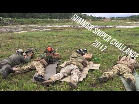Summer sniper challange. Long range shooting