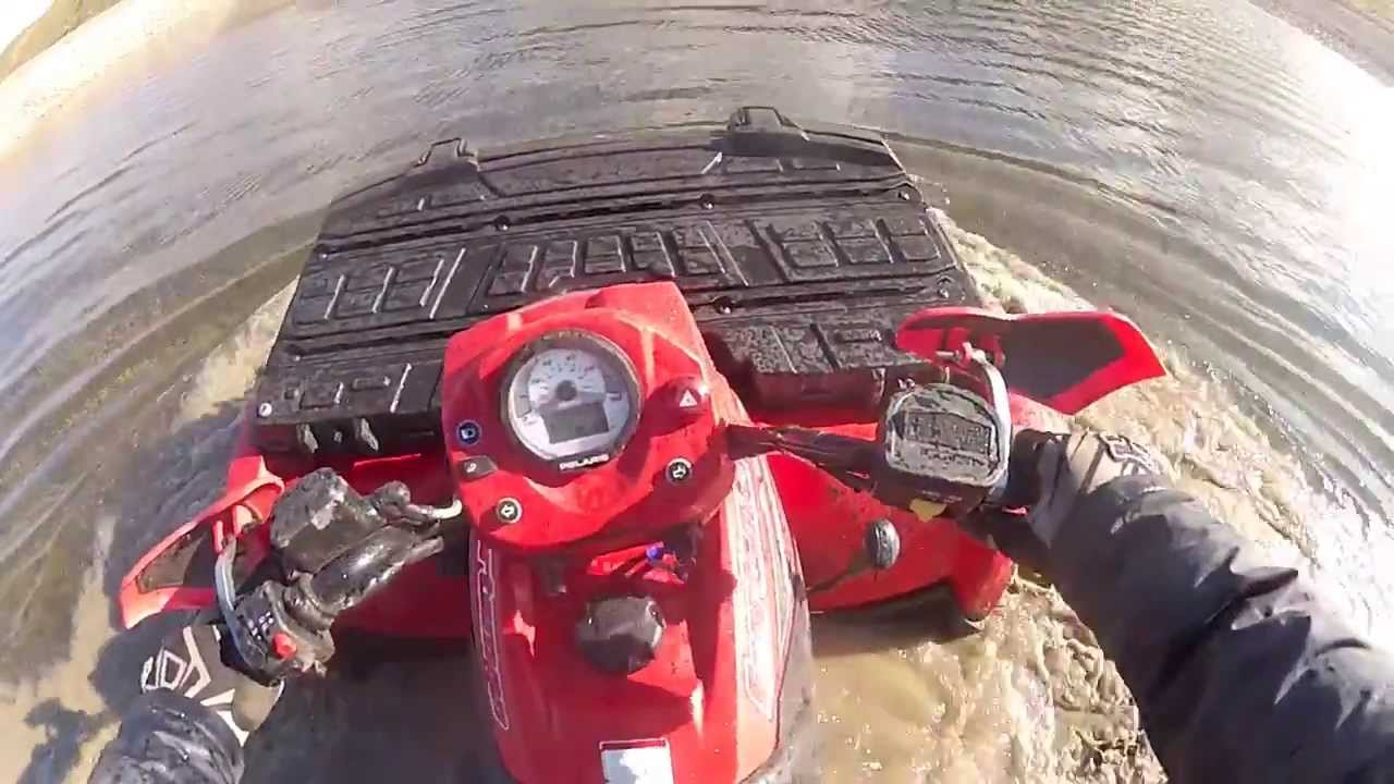 What Is A Spark Plug >> Polaris Sportsman ATV - Who Needs A Snorkel - YouTube