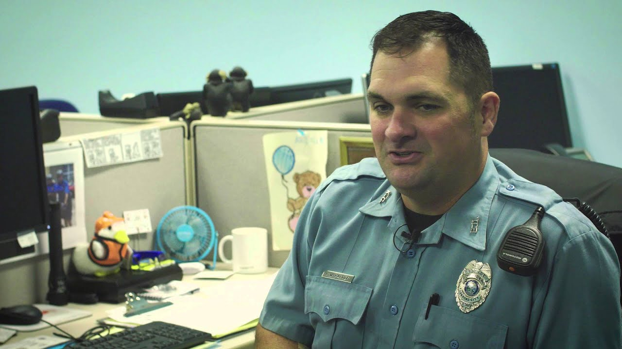 Behind the Badge (Ofc  Parker) - KCKPD - YouTube