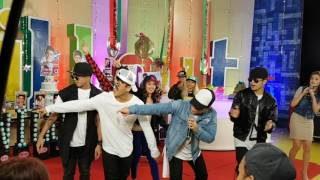 Nhikzy Calma with Rockwell do #EenieMeenieDanceChallenge on ASAP Chill Out