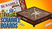 LL Bean Deluxe Scrabble Board Review - YouTube