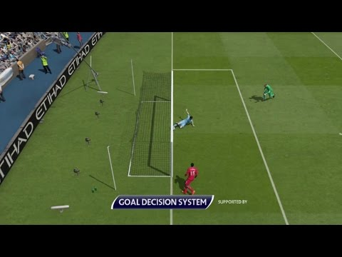 FIFA 16 - Goal Line Technology Compilation #1 HD