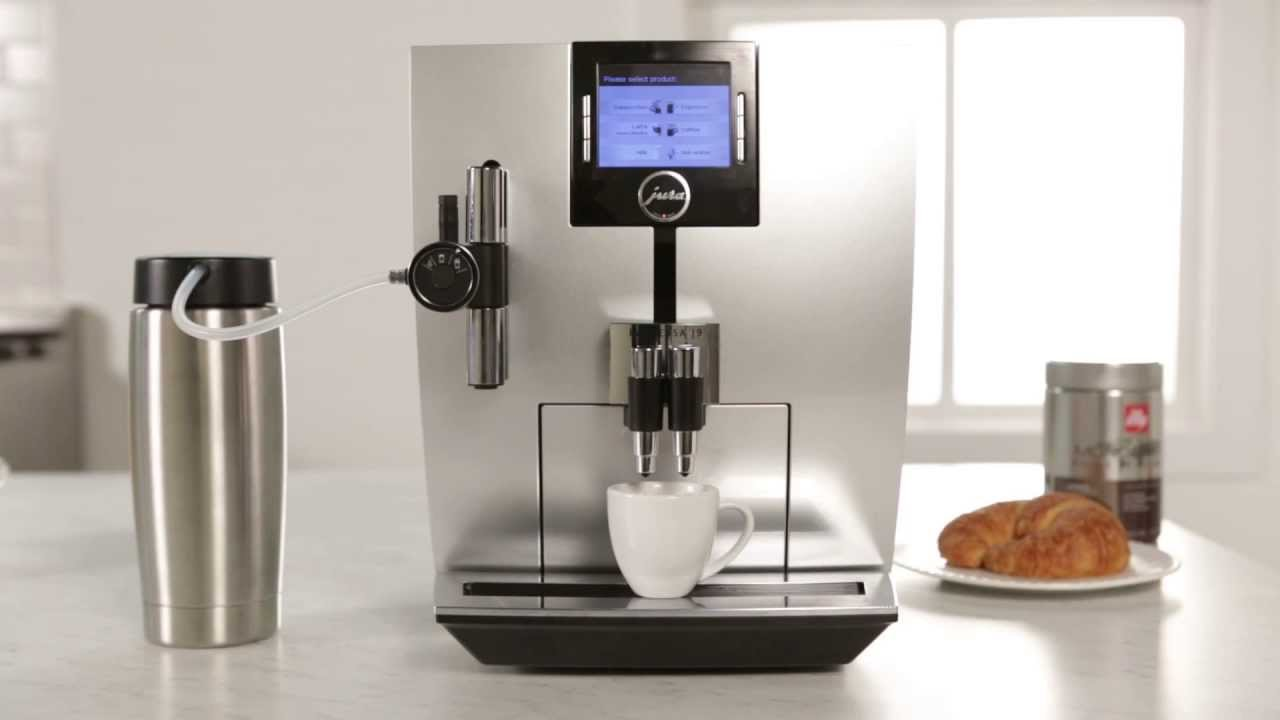 jura impressa j9 one touch tft espresso machine youtube. Black Bedroom Furniture Sets. Home Design Ideas