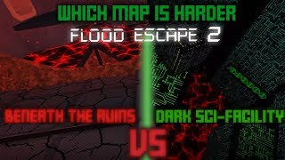 Dark Sci-Facility VS Beneath the Ruins | Which Map is Harder?