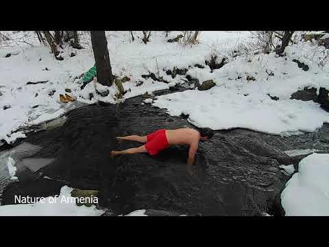Купание на крещение 2020 - Армения