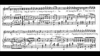 "Nicanor Abelardo - ""Nasaan Ka, Irog?"" for voice and piano (audio + sheet music)"