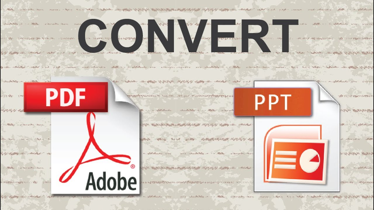 Convert Pdf To Powerpoint 2015 Youtube