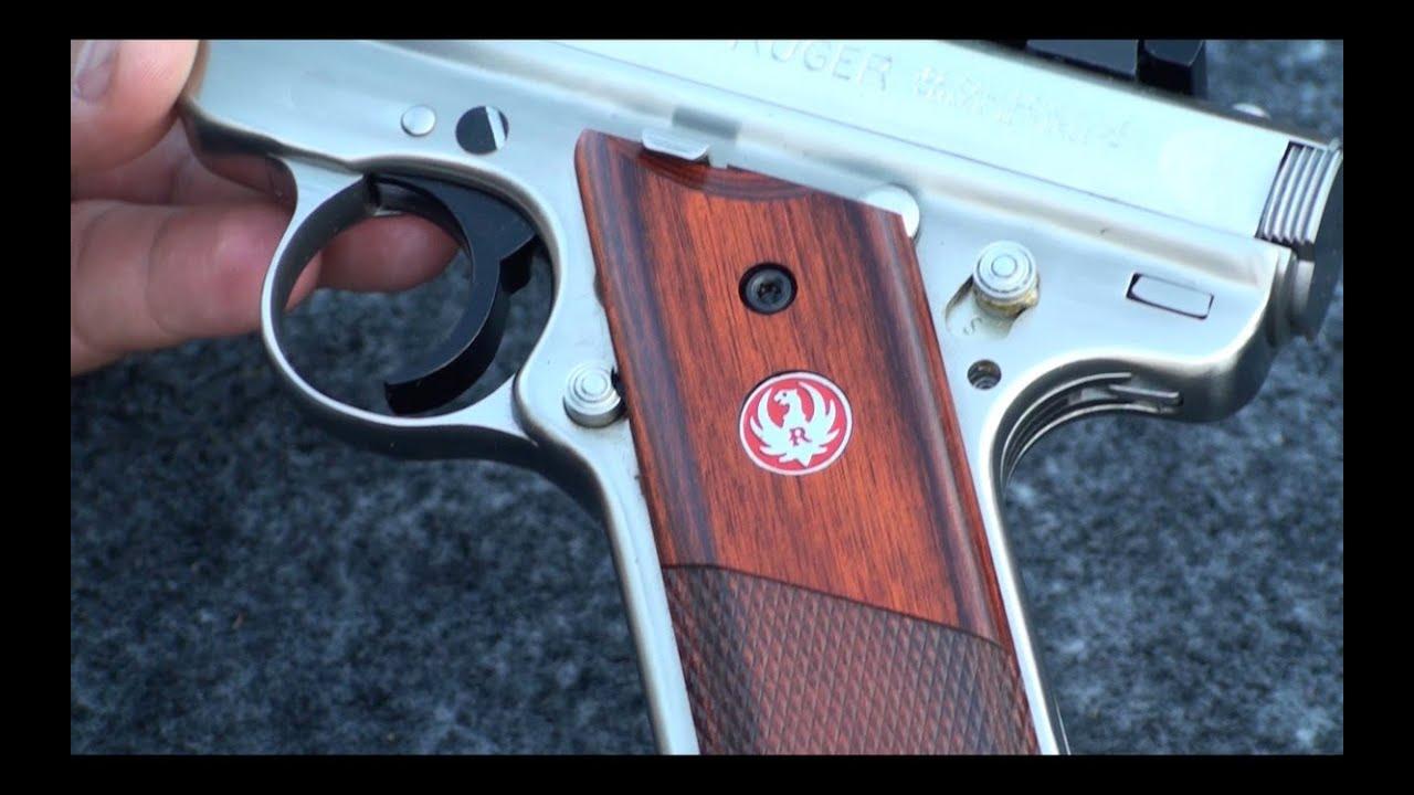 Pistolas calibre 22 ruger mark iii en espa ol youtube - Pistola para lacar ...