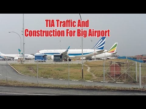 TIA Traffic And Construction For Big Airport
