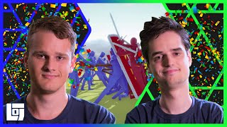 Totally Accurate Battle Simulator met Don en Ronald | Let's Play | LOGNL