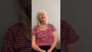 Cynthia talking about mugwort foot bath help her sleep