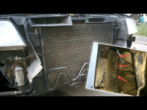 Как снять передний бампер Ауди А6 С5