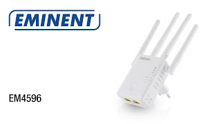EM4596 Concurrent AC1200 Dual Band WiFi Repeater en Access Point