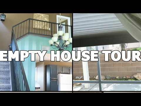 EMPTY SMALL HOUSE IN LAS VEGAS! A TOUR