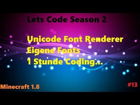 [Lets Code S2 #13] EIGENE FONTS + 1 STUNDE CODING!   [Deutsch/HD]