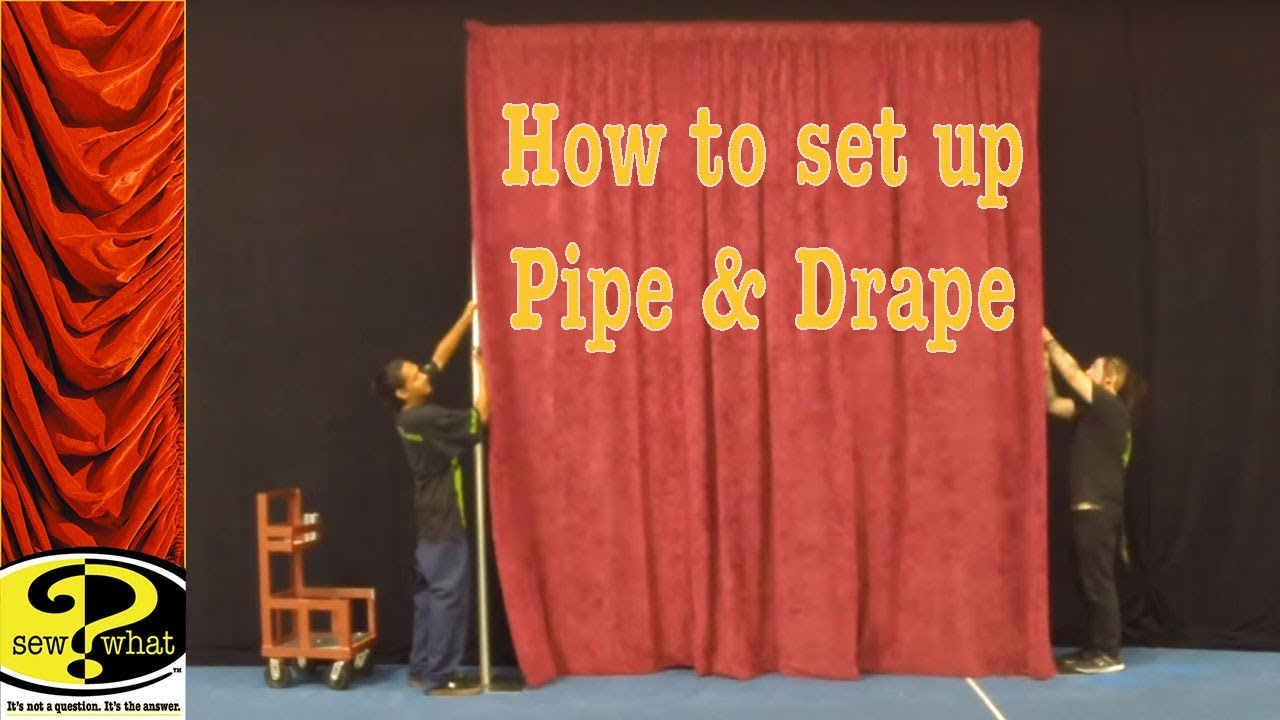 for and diy inspiration photo home pvc pipe backdrop minutes a down drapes drape