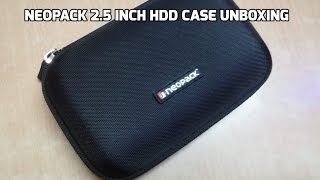 Neopack 2.5 Inch HDD Case Unboxing