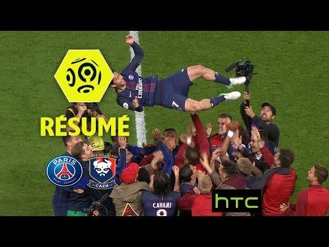 Paris Saint-Germain - SM Caen (1-1)  - Résumé - (PARIS - SMC) / 2016-17