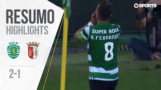 Highlights   Resumo: Sporting 2-1 SC Braga (Liga 19/20 #2)