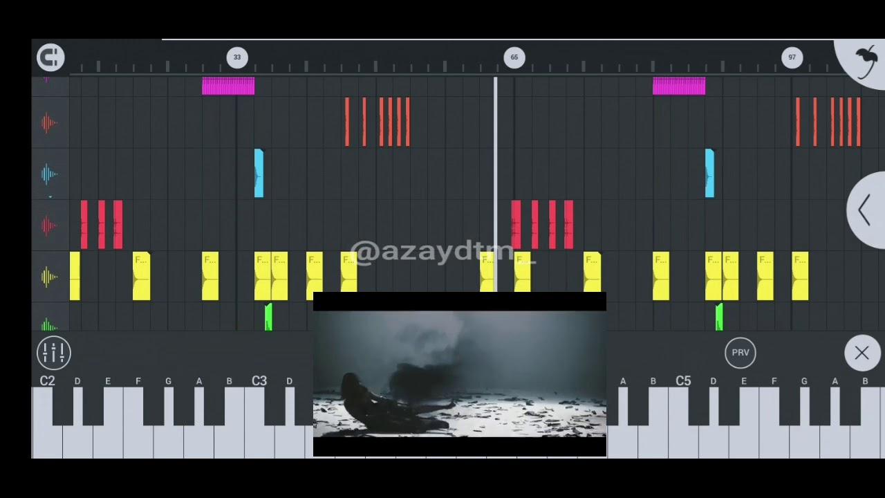 Weird Genius - Lathi (ft. Sara Fajira ) FL Studio Mobile Remake