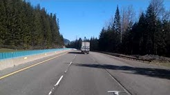 Trucking Snoqualmie Pass in Washington State (1 Hour Special)