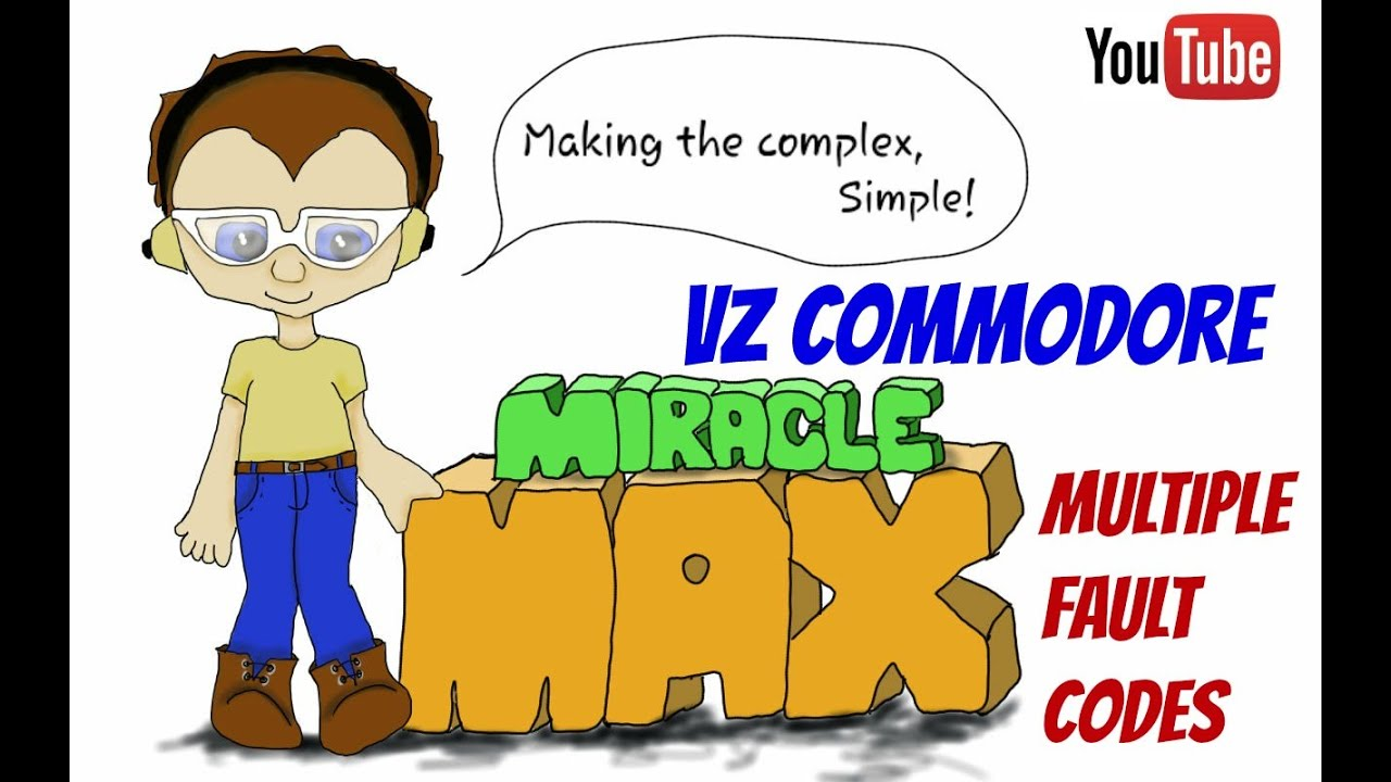VZ Commodore Multiple Fault Codes MiracleMAX
