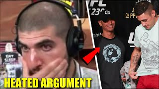 Ariel Helwani gets absolutely heated with Diego Sanchez 'guru', Cowboy aims return in March